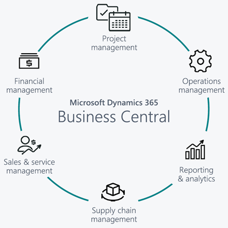 Business Central - vlastnosti
